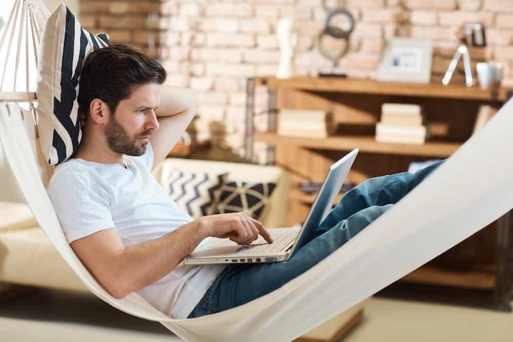how to hang a hammock indoors